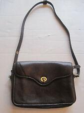 Steven Alan Leather Suede Crossbody Handbag Purse Bag Brown  EUC