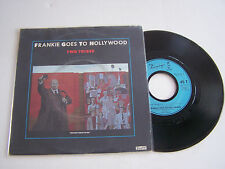 SP 2 TITRES VINYL 45 T , FRANKIE GOES TO HOLLYWOOD . TWO TRIBES . VG+ / VG++ .