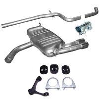 Auspuff Endtopf Mittelrohr Seat Leon/ Altea 2.0 TDi Turbo Diesel + Montagesatz