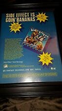 Side Effect Goin' Bananas Rare Original 1978 Promo Poster Ad Framed!