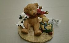 "Russ Berrie Bears from the Past ""Teddy's Christmas Morning"" ~NWT~"