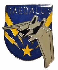 Stargate Atlantis Daedalus Ship Logo Enamel Metal Pin