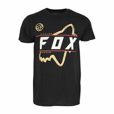 FOX RACING MENS BLACK DIVISION RACING T SHIRT