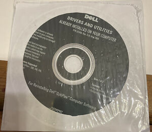 CD DRIVERS AND UTILITIES FOR REINSTALLING DELL OPTIPLEX 330 740 755 New