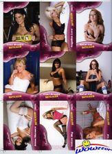(10)TNA KNOCKOUTS Revealed UNCUT SHEETS(18 Cards Set!) $610+ Hemme,Velvet, Love+
