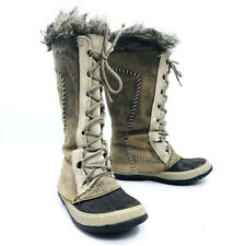Sorel Cate the Great Taupe Winter Snow Boot Womens Size 6
