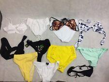 Branded Pack of 12 Bikini Bottoms/Tops Brand New RRP £75 UK 12/EU 40/US 8 (BT 8)