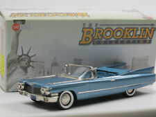 Brooklin BRK 199 1960 Cadillac Series 62 Convertible Coupe Lucerne Blue 1/43