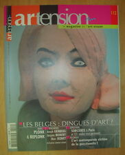 REVUE ARTENSION N°112 MARS AVRIL 2012 ANOUK GRINBERG JACQUES MONORY MARC RONET