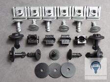 1x Unterfahrschutz Einbausatz Reparatur Clips Set für Audi A4, A6, A8