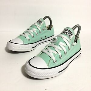 Converse Chuck Taylor All Star Ox Sneakers Mint Green Women's Size 6     136565F