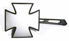 Spiegel Set 2 Stück schwarz black Iron Cross Malteser für Honda Suzuki Yamaha