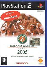 ROLAND GARROS PARIS 2005 - PS2 (USATO EX NOLEGGIO) SENZA MANUALE