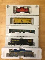 Atlas Trainman Delaware and Hudson Train Set # 0040 w/RS36 Loco