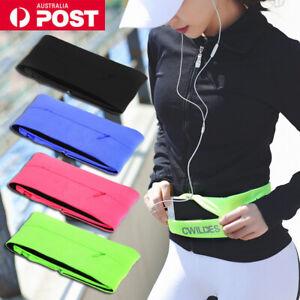 Sports Running Belt Waist Bag Jogging Gym Yoga Cycling Phone Bum Pocket Packs