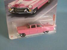 Matchbox 1955 Cadillac Fleetwood Pink Body Toy Model Car 70mm USA BP Elvis Caddy