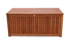Kissenbox 130cm Auflagenbox Gartenbox  Truhe Eukalyptus NEU & OVP