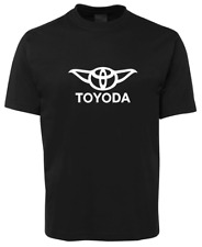Star Wars Toyoda T-shirt Yoda Toyota Novelty Star Wars Tshirt Parody AU SELLER
