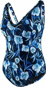 SPEEDO One-Piece Swimsuit Size 22 Peacoat - Color blue floral
