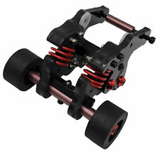 NHX Wheelie Bar con neumáticos de goma negra: - REVO 2.0 E