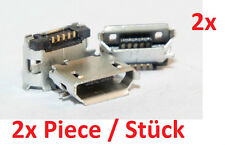 Micro mini USB Jack 5p female socket hembra instalación de haya Connector 5 pin 4 2x PC
