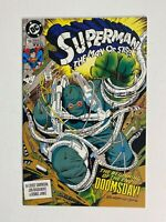 Superman: The Man of Steel #18 2nd printing 1st full app of Doomsday DC 1992
