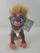 "Disney Store The Lion Guard Makini Mandrill Monkey Plush 10"" - New With Tags"