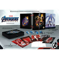 Avengers: Endgame - Steelbook 4K Exclusif (Blu-ray 2D inclus)-Édition Collector