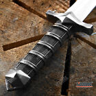 11.5' STAINLESS STEEL DARK ASSASSIN MEDIEVAL DAGGER w/ SHEATH CHAIN REPLICA