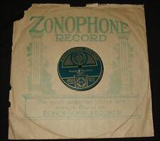 "ZONOPHONE 1919 - 10"" 78 rpm  - PETER DAWSON – WIDOW OF PENZANCE  1920s"