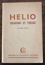 1953 - HELIO gravure et Tirage - G. Baudry