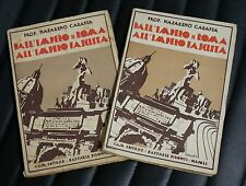 Dall'impero di Roma all'impero fascista - 2 volumi - 1937/38 - Ed. Pironti
