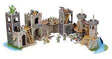 Medieval Castle 3 D Puzzle Play Melissa & Doug Dragon Knights 100 Pcs Set Figure