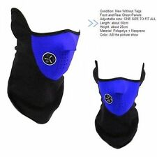 Windproof Face Mask For Motorcycle Balaclavas CS Hat Headgear Skiing Ear Blue