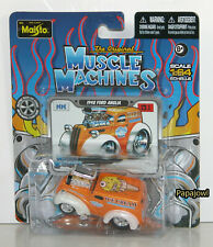 Muscle Machines Maisto 13.1 1948 Ford Anglia (Thames) Ice Cream Delivery 1:64 D