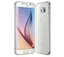 Samsung Galaxy S6 SM-G920W8  32GB - White  Unlocked Grade C screen peeling