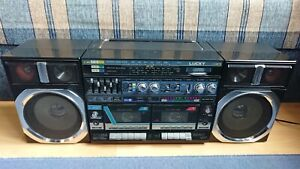 Rare Lucky L30K (aka Lasonic L30K) Boombox Stereo Cassette Player FM/AM/SW Radio