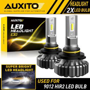 AUXITO 9012 LED Headlight Bulbs 20000LM 6500K for GMC Sierra 1500 2014-2015  EOA