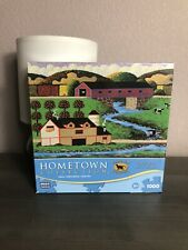 "Hometown Collection ""Sunday at the Covered Bridge"" 1000 Pieces Puzzle"