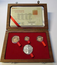 Krugerrands Fractional Set 30 Years Silver Gold 1/2 1/4 1/10 OZ Set PP SA MINT