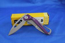 Buck Apex Folding knife 67mm Blade Purple 10058