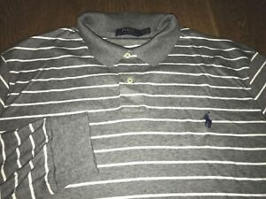 "Ralph Lauren Soft Touch Long sleeve Polo XXL ""Big"" AUTHENTIC!!!!"