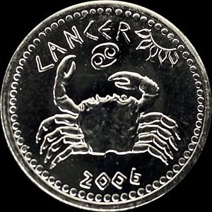 2006 Somaliland 10 Shillings - Zodiac Series - Cancer - CH UNC PL