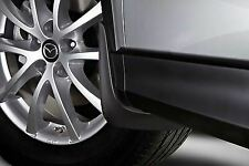 Genuine Mazda CX-5 2015-2017 Front and Rear Mud Flaps