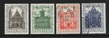 Netherlands 1948 - Summer Stamp issue - Famous buildings - Used no hinge