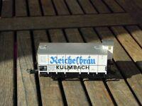Trix 23969 gedeckter Güterwagen Kulmbacher Reichelbräu DRG Ep.2, selten mit KKK