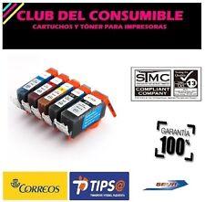 5 X CARTUCHOS COMPATIBLES CANON PGI520 CLI521 NO OEM PIXMA MX 860 PIXMA MX 870