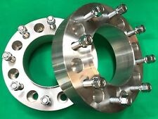 """2"""" Dodge Ram 3500 Dually Hub Centric 8x6.5 WHEELS SPACERS 2012 to 2019 Rear axle"""