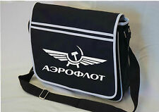 AEROFLOT Rétro URSS soviétique vol Messenger Sac épaule école collège
