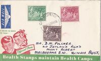 NZFD65) NZ 1956 Health Stamps Maintain Health Camps